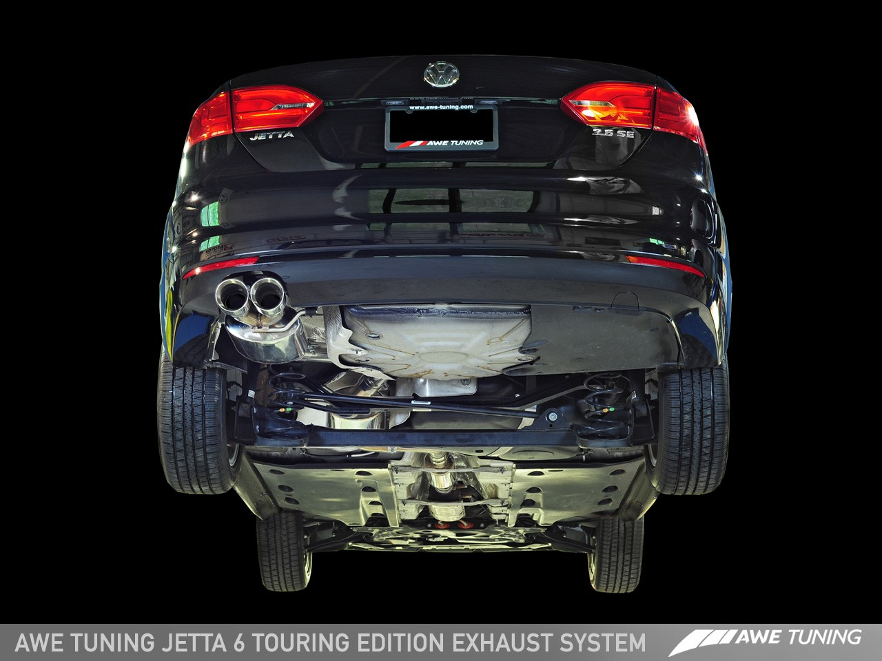 Mk6 Gli Exhaust >> Awe Tuning 2 5l Jetta Touring Edition Exhaust Polished Deep South